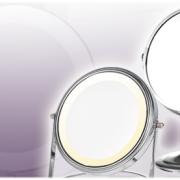 LED magnifying mirror, makeup mirror