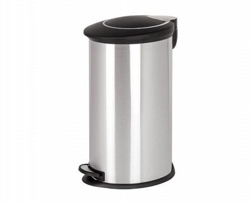 Oval Pedal Trash Bin With Plastic Lid