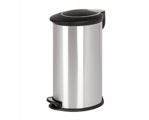 Oval Pedal Trash Bin With Plastic Lid