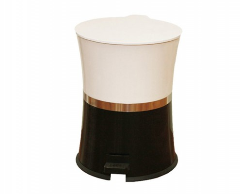 Plastic Trash Can,Hourglass Shaped Wastebin,Garbage Bin,Rubbish Can