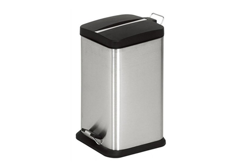 Stainless Steel Pedal Square Trash Can