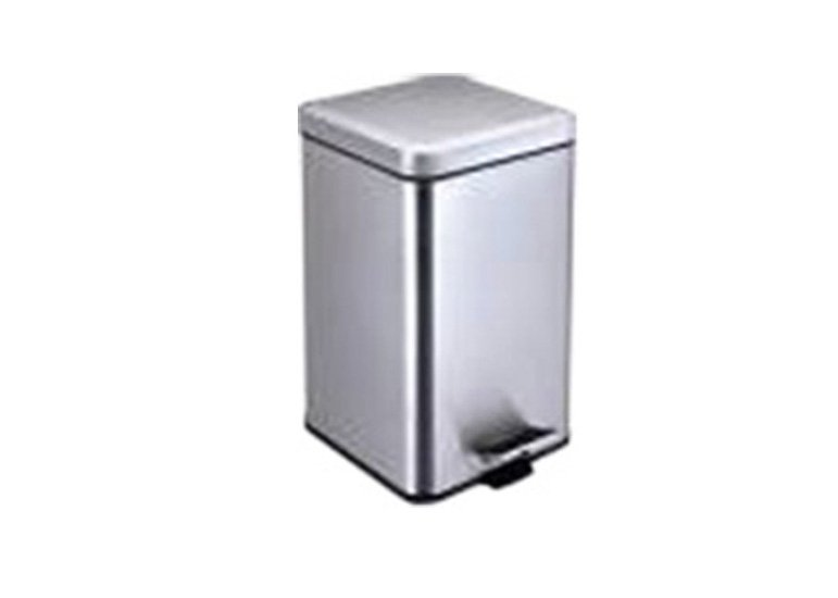 stainless steel dustbin, step open trash can,