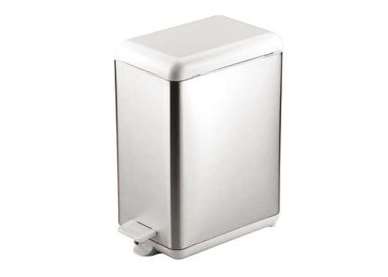 Stainless Steel Flat Top Garbage Can
