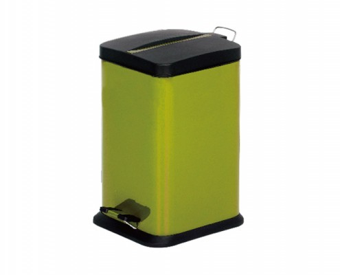 ktichen trash can rectangular Yellow
