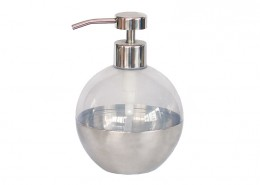 Stainless Steel Soap Dispenser, Acrylic Soap Pump, Liquid Hand Soap Dispenser