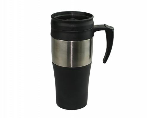 Insulated Travel Mugs With Anti-skidding Rubber, photo mugs, custom mugs, personalized mugs, personalized coffee mugs, funny coffee mugs