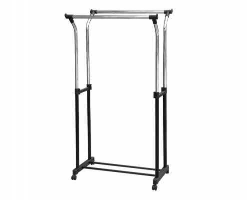 Metal Double Tube Garment Rack