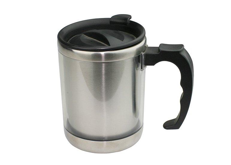Twin Wall Insulated Desk Mug, cool mugs, printed mugs, customized mugs, promotional mugs