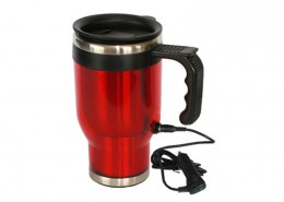 Heated Auto mug, Electric Heated Car mug, travel mug