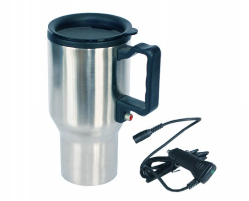 Car Auto Mug with Universal 5 In 1 Emergency Mobile Car Charger, car mug, auto mug