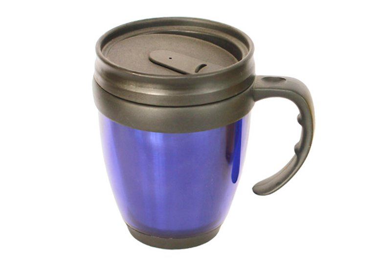 Desk Mug, Twin Wall Plain Mug