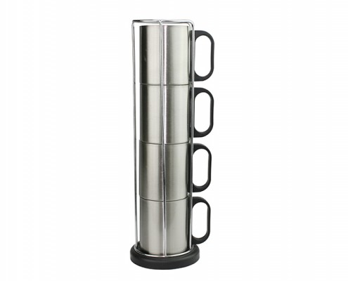 Drinking Mug Set with stand, coffee cup, personalised mugs, tea cups, travel mug