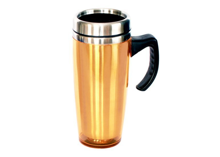 Travel Mug With Handle Triangle Homeware