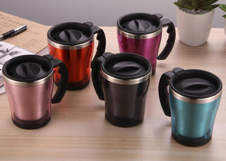 Colorful Travel Mugs