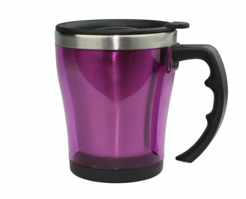 Stainless Steel Wide Body Mug, desk mug, plain mug, travel mug
