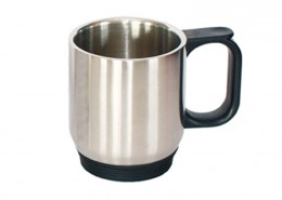 Twin Wall Stainless Steel Plain Mug