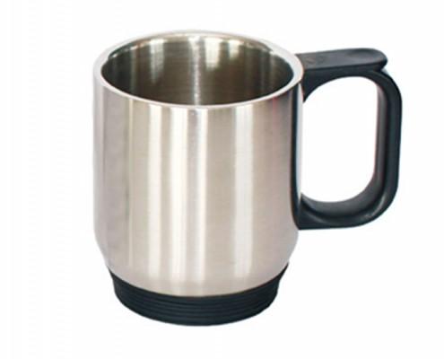 Twin Wall Stainless Steel Plain Mug