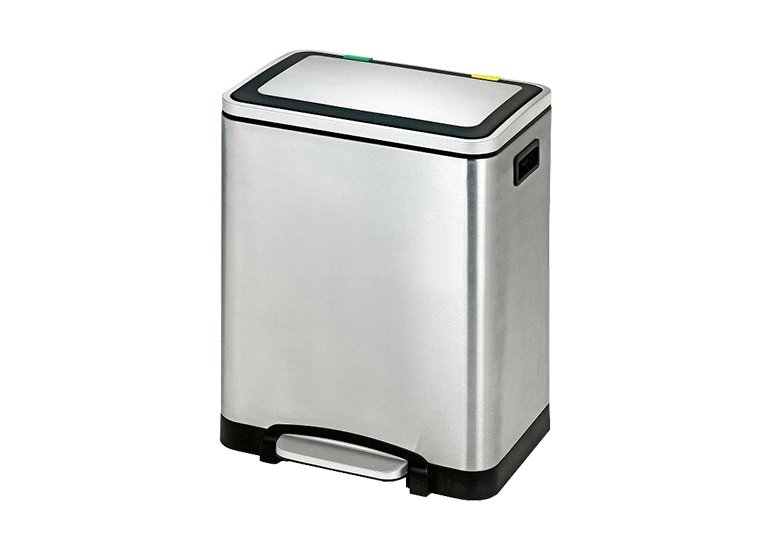 rectangle pedal dustbin Stainless Steel Garbage Can
