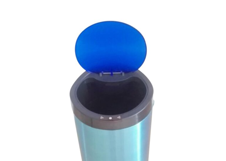round sensor can with plastic lid