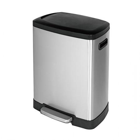 large rectangular trash can