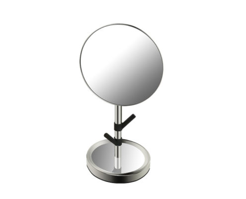 cosmetic mirror, single side mirror with jewelry holder stand