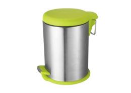Round Stainless Steel Dustbin
