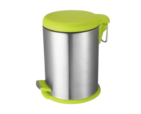Round Stainless Steel Dustbin