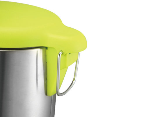 Round Stainless Steel Pedal Bin