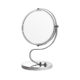 S Shaped Cosmetic Mirror Double Side