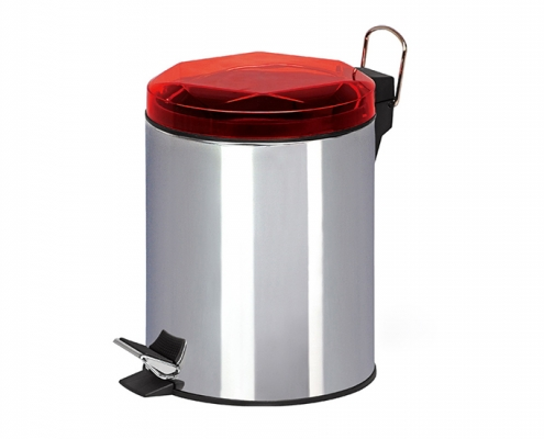 Stainless Steel Step Open Trash Can