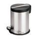 pedal rubbish bin powder-coated or stainless steel brushed