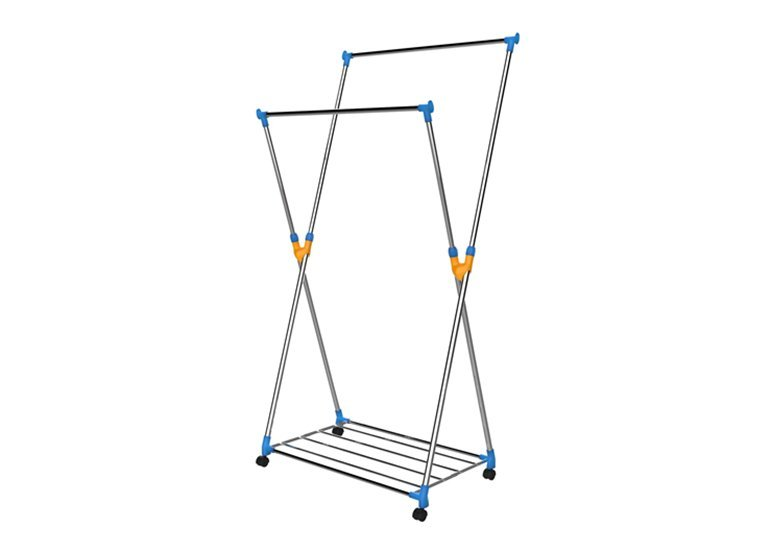 Collapsible Indoor Tripod Clothes Drying Rack