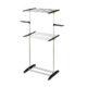 chrome steel clothes dryer garment rack
