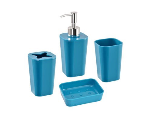 soap pump, tooth brush holder, soap dish, rinse cup