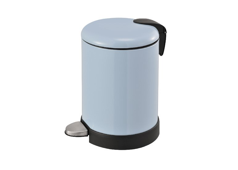 Round Step Trash Can stainless steel