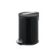 Stainless Steel Step Trash Can 20Liter Black