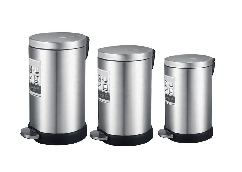 Stainless Steel Trash Can Supplier