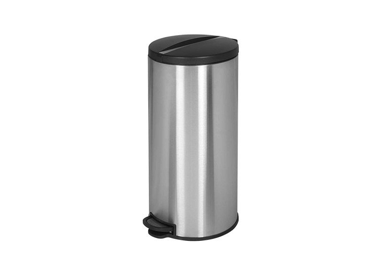 Waste Bin Rounded Plasti Lid 30 Liters