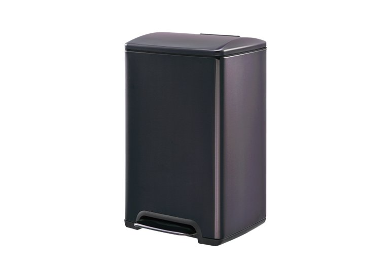 Rectangular Pedal Trash Can Raisin DBS-11C