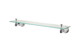 Zinc die-cast Construction Glass Shelf GS-B01