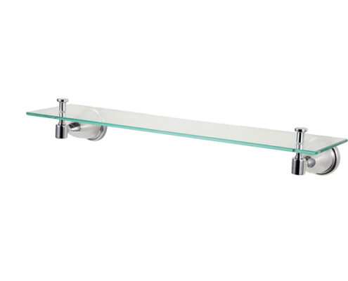 Zinc die-cast Construction Glass Shelf GS-B01