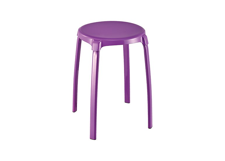 Assorted Color Metal Stack Stool