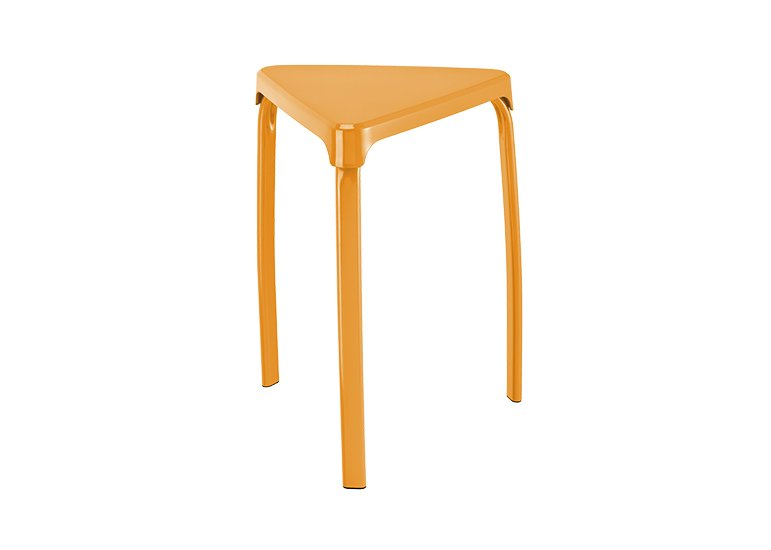 Triangle Plastic Stacking Stools Factory