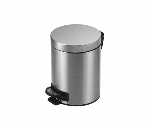 Metal Kitchen Trash Can