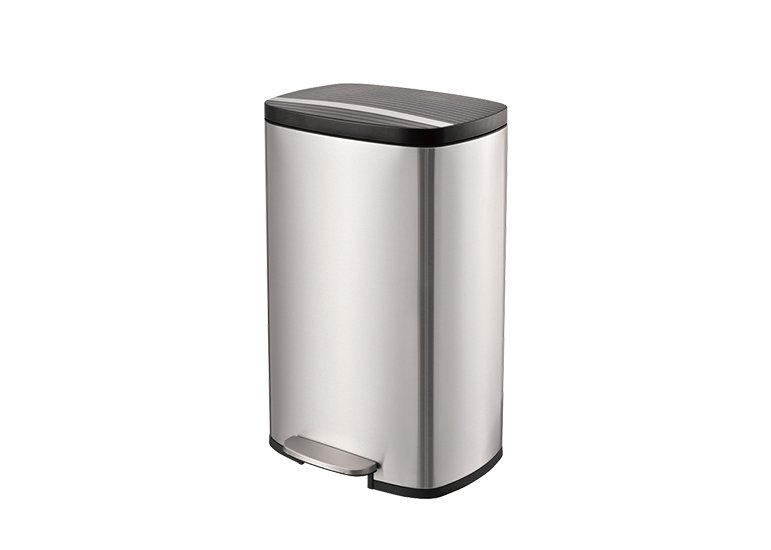 Rectangular Step Trash Can