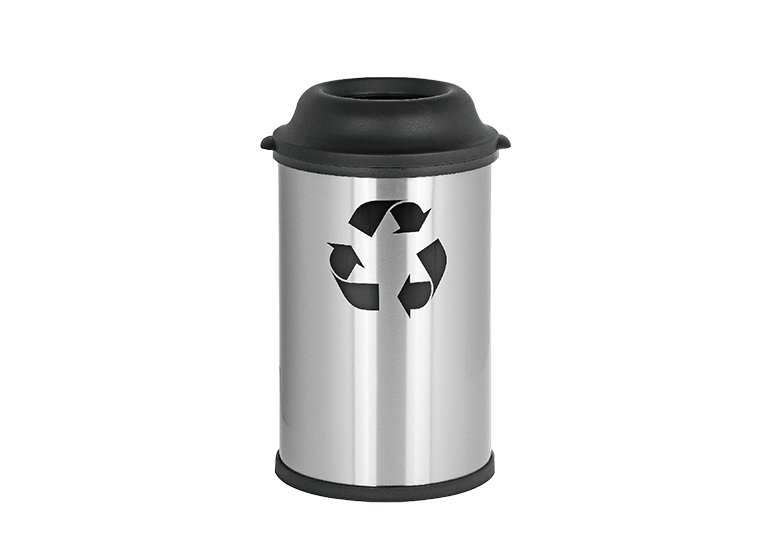 Recycling Bins With Plastic Lid