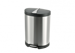 Semi Round Trash Can