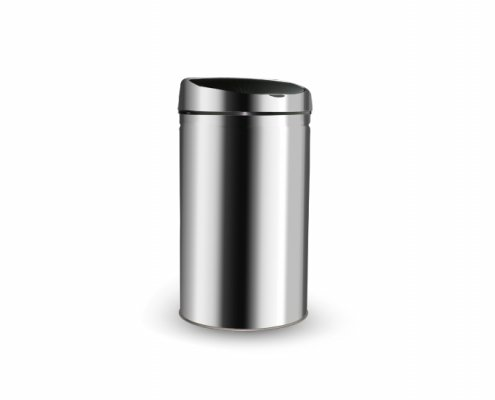 Stainless Steel Infrared Touchless Dustbin DBR-IT01
