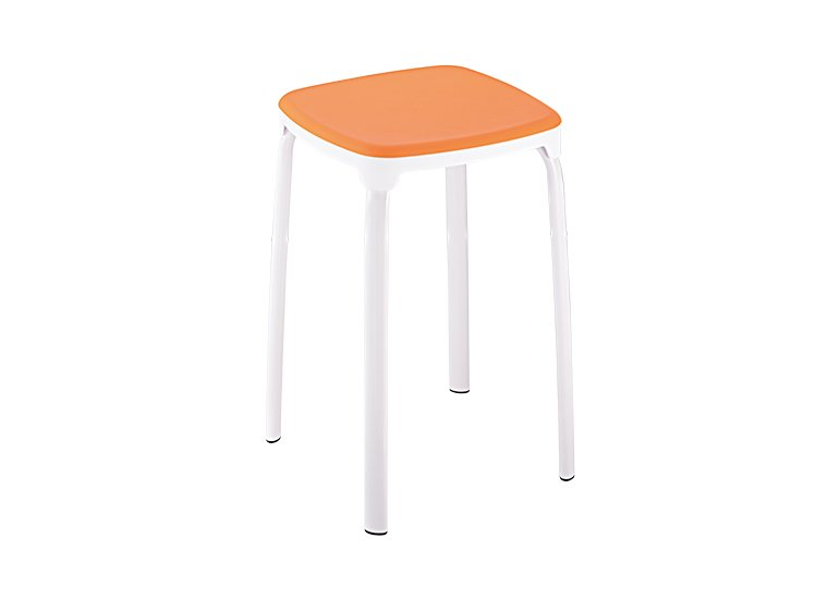 Steel Stool Supplier Orange SL-A05S