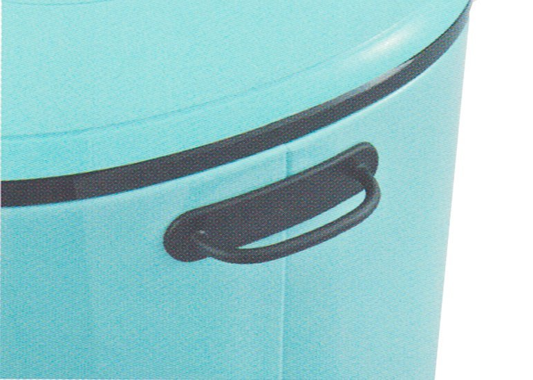 Oval Waste Bin Macaroon Colors